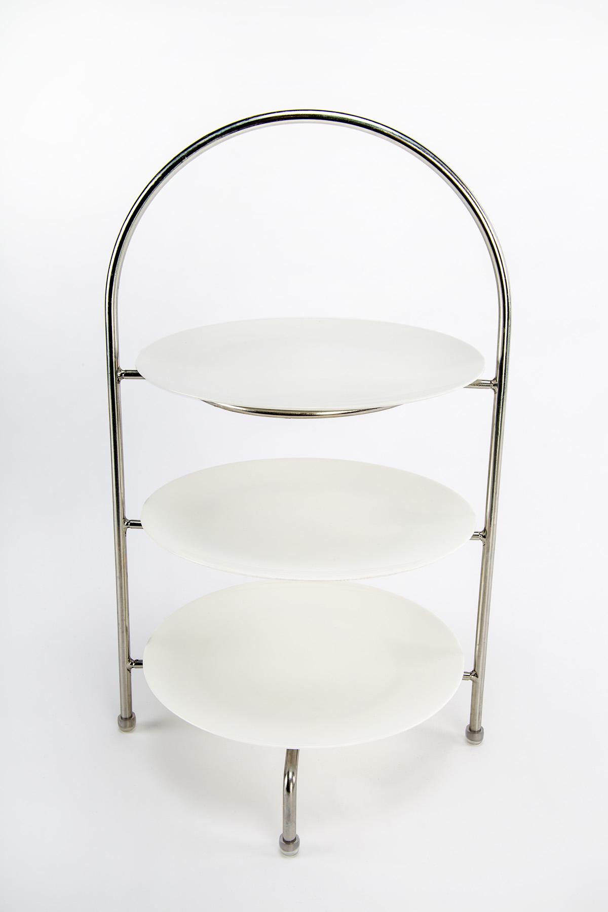 etagere f r drei teller 21cm vega die metzgerei mannheim. Black Bedroom Furniture Sets. Home Design Ideas